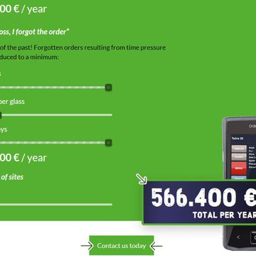 Half a million more per year with radio ordering! Calculate…