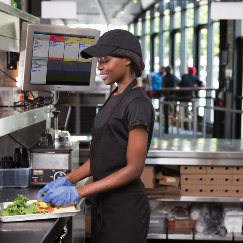 Cost minimisation and quality maximisation in fast food sector